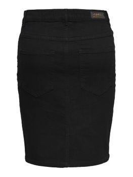 ONLY Damen Jeans Rock onlKISS HIGH DNM SKIRT PIM001 NOOS Bleistift Stretch schwarz – Bild 2