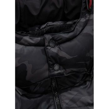 PIT BULL WEST COAST Herren Winterjacke Jacke PADDED HOODED JACKET WALPEN Camouflage – Bild 9