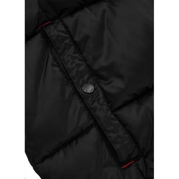 PIT BULL WEST COAST Herren Winterjacke Jacke PADDED HOODED JACKET WALPEN schwarz – Bild 3
