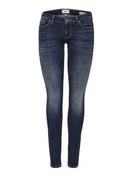 ONLY Damen Hüft Jeans Hose onlCORAL LOW SK BB CRE185930 skinny blau