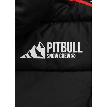 PIT BULL WEST COAST Herren Winterjacke Jacke PADDED HOODED JACKET AIRWAY schwarz – Bild 8