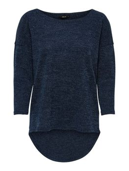 ONLY Damen Oversize Pullover onlALBA 3/4 TOP JRS NOOS Strick Shirt vokuhila color mix – Bild 8