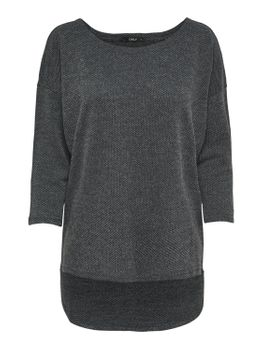 ONLY Damen Oversize Pullover onlALBA 3/4 TOP JRS NOOS Strick Shirt vokuhila color mix – Bild 12