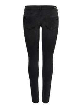 ONLY Damen Hüft Jeans Hose onlCORAL LIFE SL SK BB AZ141700 NOOS superlow skinny schwarz – Bild 2