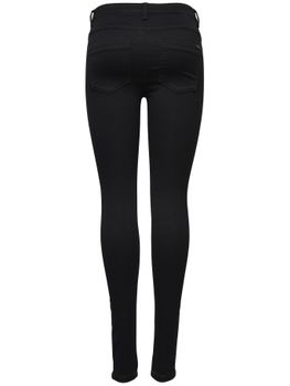 ONLY Damen Jeans Leggings ROYAL REG SKINNY PIM 600 black schwarz – Bild 3