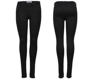 ONLY Damen Jeans Leggings ROYAL REG SKINNY PIM600 NOOS black schwarz 001