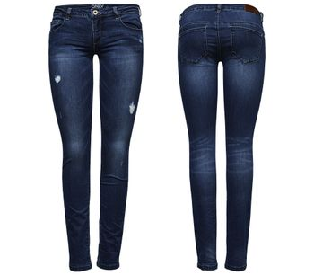 ONLY Damen Jeans onlCORAL SL SK DNM BJ 5001-3 superlow skinny