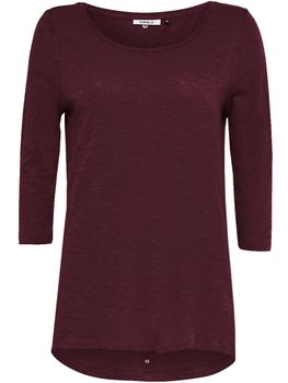 ONLY Damen Pullover Shirt CASA 3/4 BUTTON TOP JRS NOOS vokuhila oversize – Bild 15