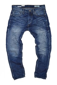 JACK & JONES Herren Jeans ERIK ORG SC 501 ORG NOOS Anti Fit