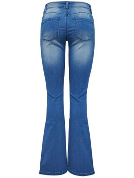 ONLY Damen Schlag Jeans Hose onlROYAL REG SK SWEET FLARED MBLUE Bootcut – Bild 3