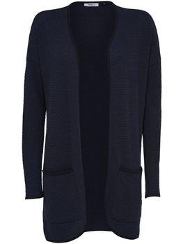 ONLY Damen Oversize Strick Jacke onlDIAMOND LS LONG CARDIGAN NOOS – Bild 7