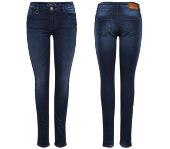ONLY Damen Denim Jeans onlULTIMATE REG SK DCC 1558 NOOS