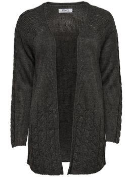 ONLY Damen Strickjacke Jacke onlOLYMPIA L/S LONG CARDIGAN KNT oversize – Bild 3