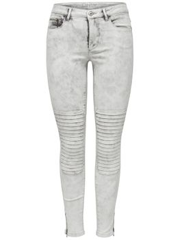 ONLY Damen Jeans Leggings ROYAL REG SK ANKLE RACE PIM 403 biker denim – Bild 5