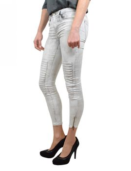 ONLY Damen Jeans Leggings ROYAL REG SK ANKLE RACE PIM 403 biker denim – Bild 2