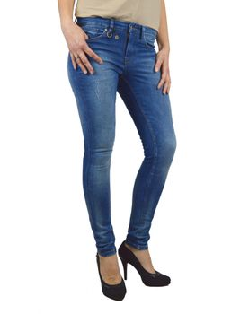 ONLY Damen Denim Jeans ULTIMATE REG SKINNY DNM DCC 514 – Bild 3