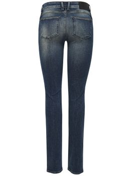 ONLY Damen Jeans SISSE REG SLIM DNM RIM 3580 denim regular fit – Bild 3