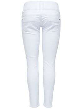 ONLY Damen Denim Jeans onlANEMONE SOFT ANKLE PIM 907 white weiß knöchellang – Bild 3