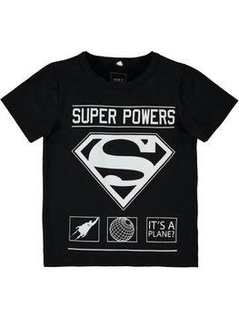 NAME IT Kinder Jungen T-Shirt SUPERHERO LUKE SS TOP Superman Batman Dark Night – Bild 2