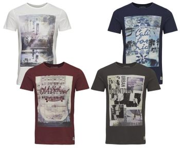 JACK & JONES ORIGINALS Herren T-Shirt JJ OR  SKATER TEE SS CREW NECK – Bild 1