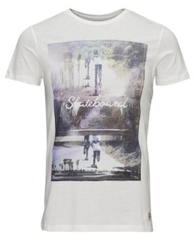JACK & JONES ORIGINALS Herren T-Shirt JJ OR  SKATER TEE SS CREW NECK – Bild 2