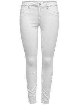 ONLY Damen Jeans Hose onlKENDELL REG SK ANKLE CRE-WHITE weiß denim – Bild 1