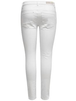 ONLY Damen Jeans Hose onlKENDELL REG SK ANKLE CRE-WHITE weiß denim – Bild 2