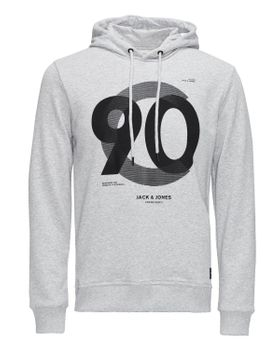 JACK & JONES CORE Herren Pullover Hoodie JJ CO NUMBERS SWEAT HOOD Kapuze – Bild 2