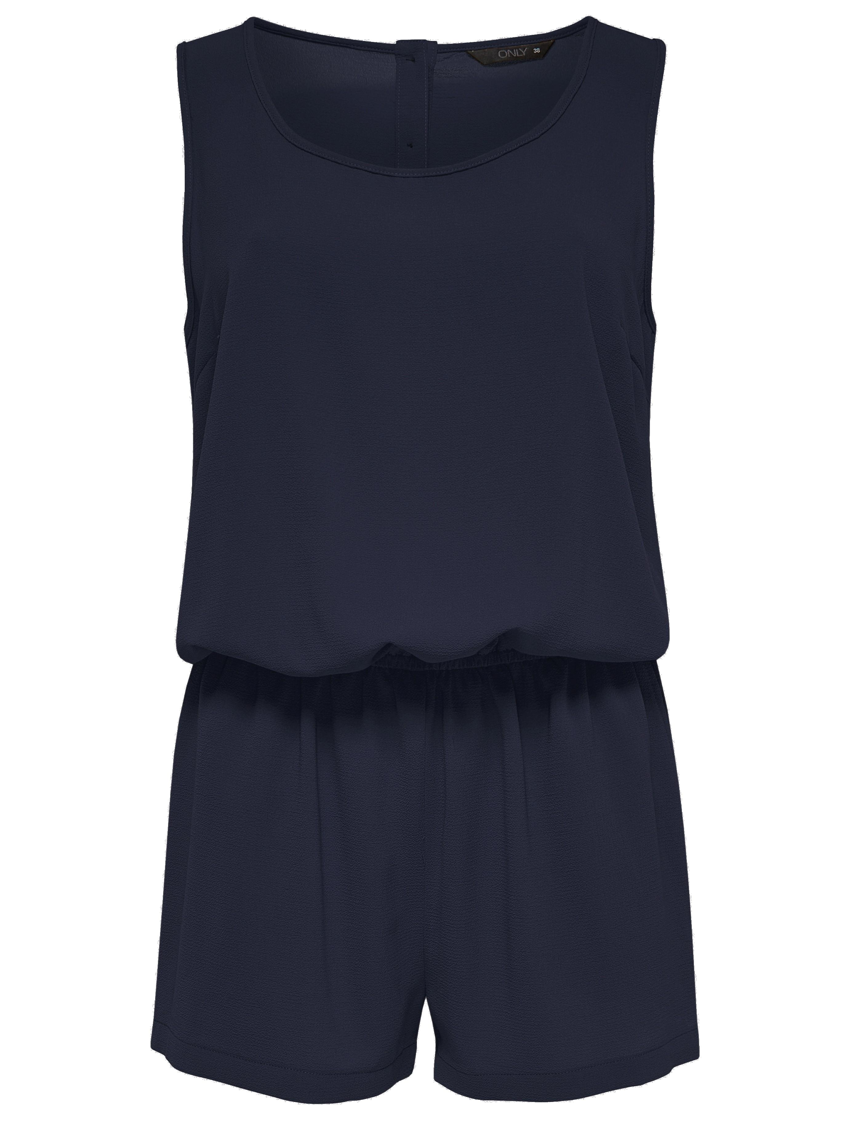 only damen overall jumpsuit onlnova lux plain s l playsuit. Black Bedroom Furniture Sets. Home Design Ideas