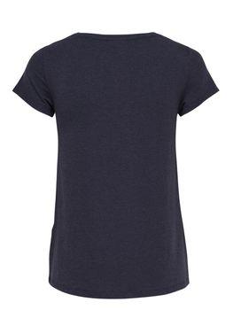ONLY Damen Oversize T-Shirt onlMOSTER S/S V-NECK TOP NOOS schwarz blau grün – Bild 5