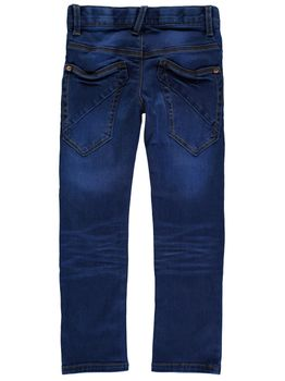 NAME IT Kinder Jungen Jeans Hose nitTERRY SLIM/SLIM DNM PANT NMT NOOS Medium Blue – Bild 2