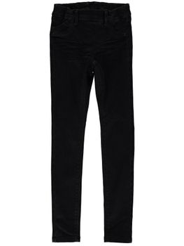 NAME IT Kinder Mädchen Jeans Hose NITENNE SKINNY DNM PANT NOOS Black Denim – Bild 1