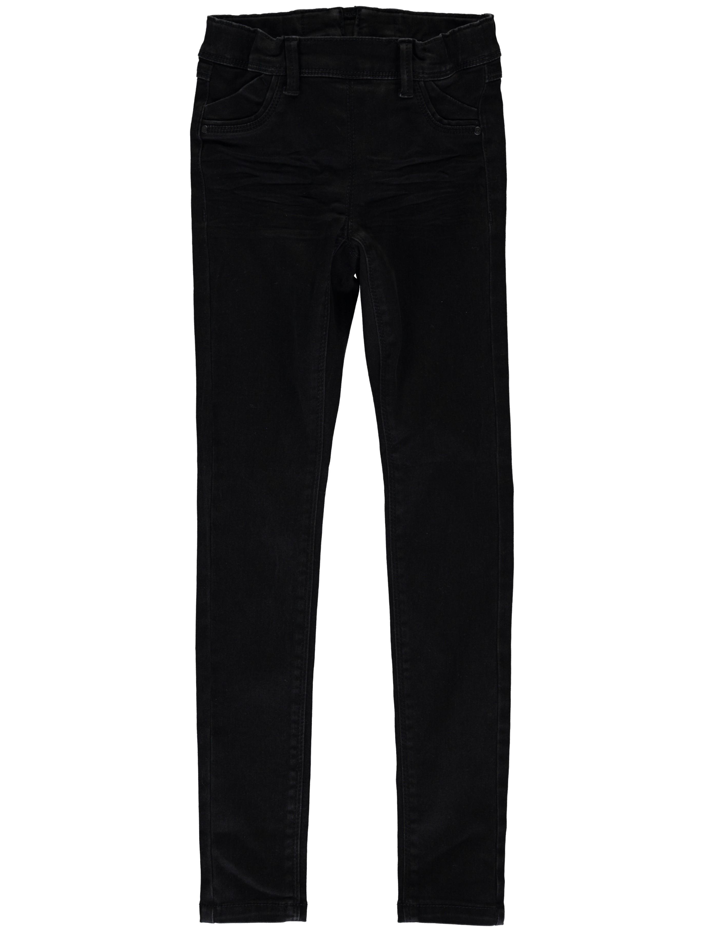 Werksverkauf modische Muster billiger NAME IT Kinder Mädchen Jeans Hose nitTENNE SKINNY DNM PANT NOOS Black Denim