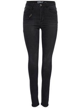 ONLY Damen Jeans onlPIPER HW SK MILENA DNM JEANS BJ755 NOOS highwaist skinny denim black 001