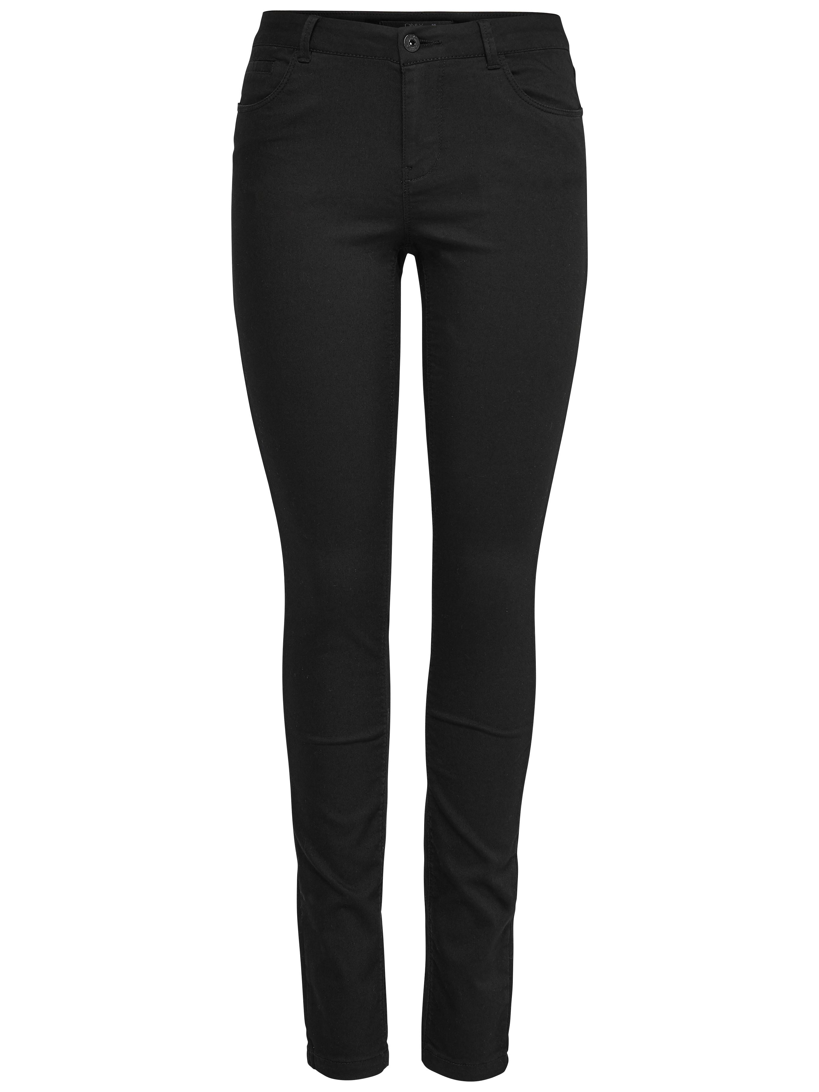 ONLY Damen Hose Jeans onlELENA REG SKINNY PANT NOOS schwarz Damen ... a84a3b6928