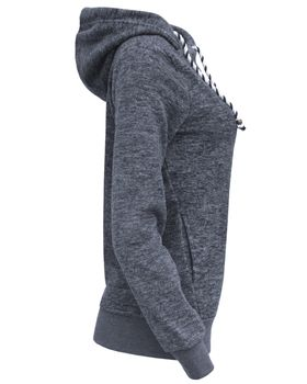 ONLY Damen Fleece-Shirt Sweatshirt Pullover Kapuze onlRAE L/S HOOD SWT – Bild 8