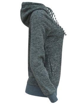 ONLY Damen Fleece-Shirt Sweatshirt Pullover Kapuze onlRAE L/S HOOD SWT – Bild 5