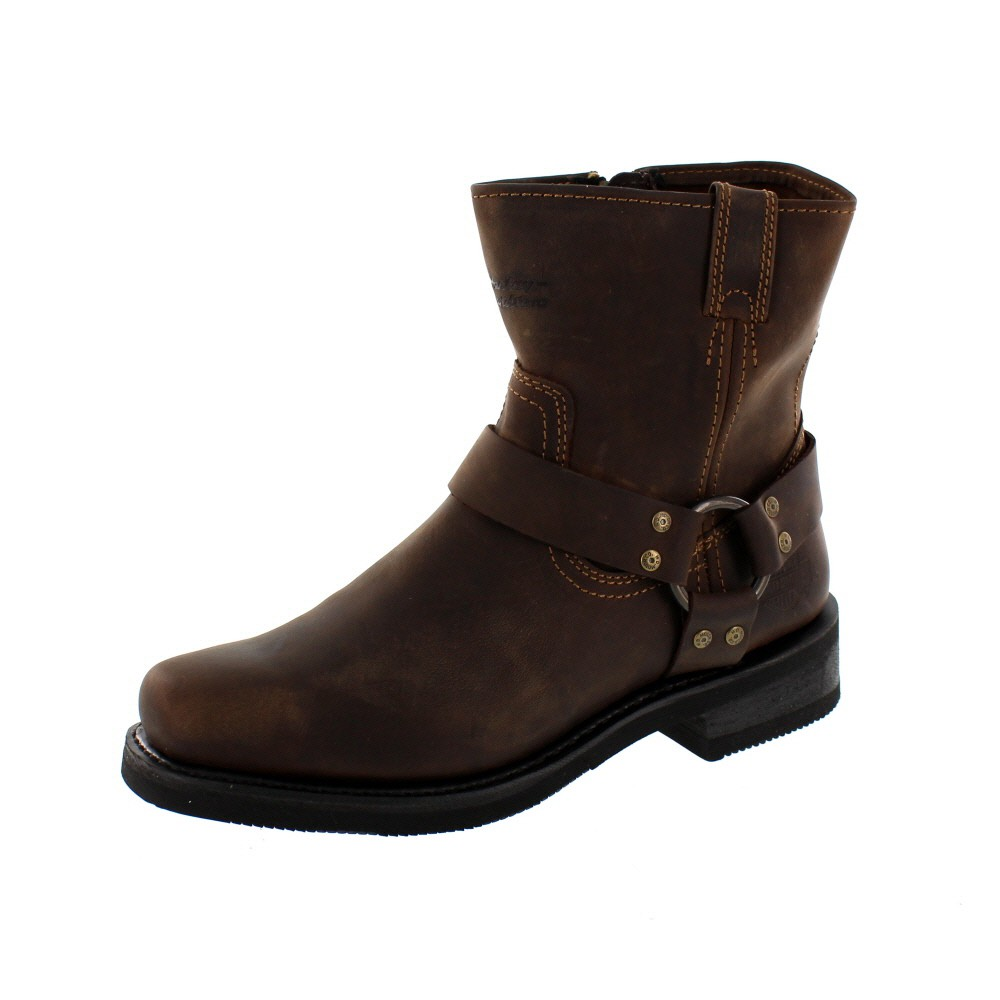 HARLEY DAVIDSON Men - Boots EL PASO - brown