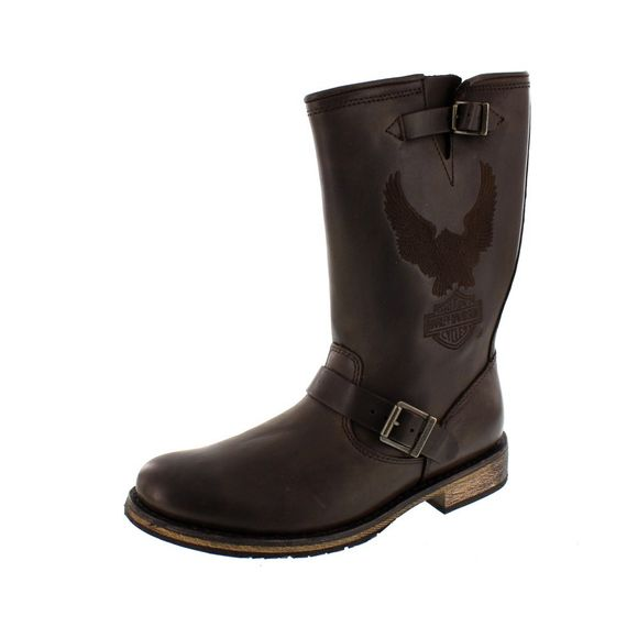 HARLEY DAVIDSON Men - Boots CLINT - brown