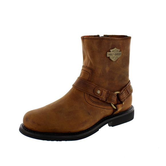 HARLEY DAVIDSON Men - Boots SCOUT - D95263 - brown