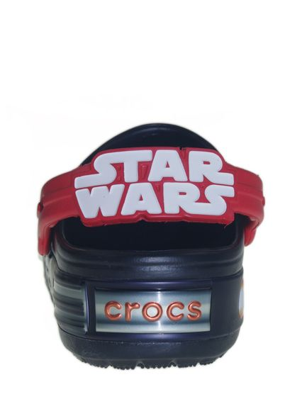 CROCS Kinderschuhe - Clogs Crocslights STAR WARS VADER - black flame - Thumb 4