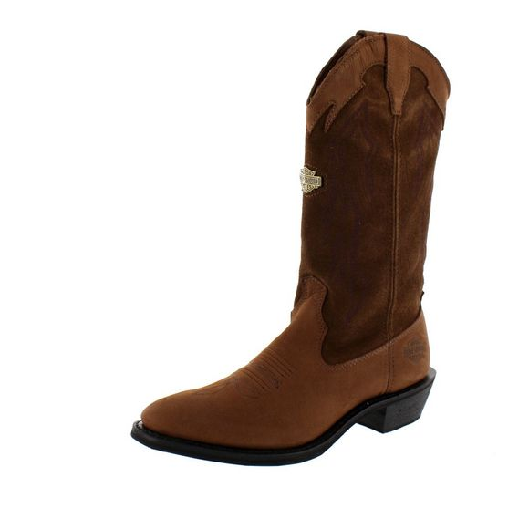 HARLEY DAVIDSON Men - Boots GALEN - brown