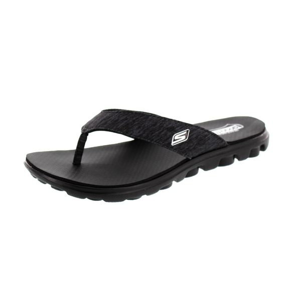 SKECHERS - Zehentrenner FLOW THONG 13631 black - Thumb 1
