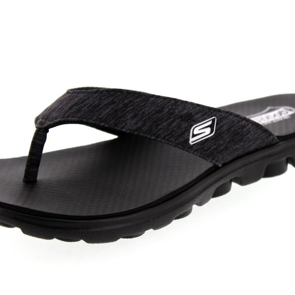 SKECHERS - Zehentrenner FLOW THONG 13631 black - Thumb 6