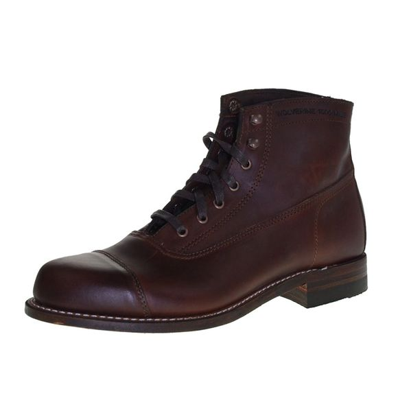 WOLVERINE 1000 MILE Men - Boots ROCKFORD - brown