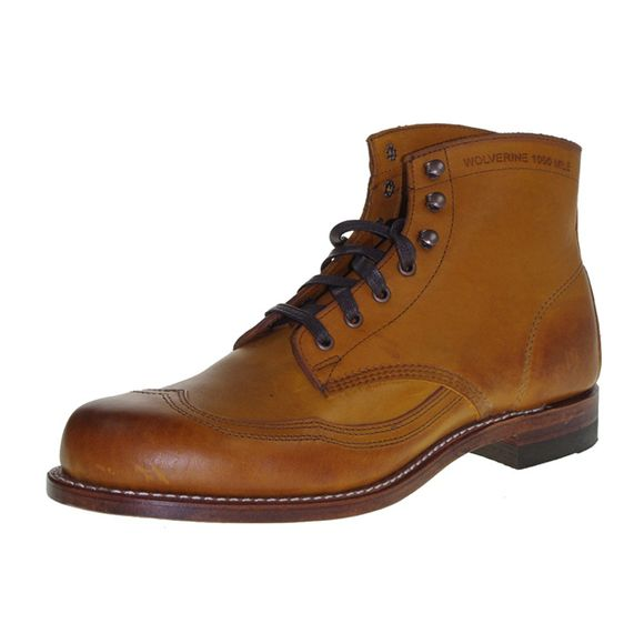 WOLVERINE 1000 MILE Men - Boots ADDISON BOOT - tan - Thumb 1