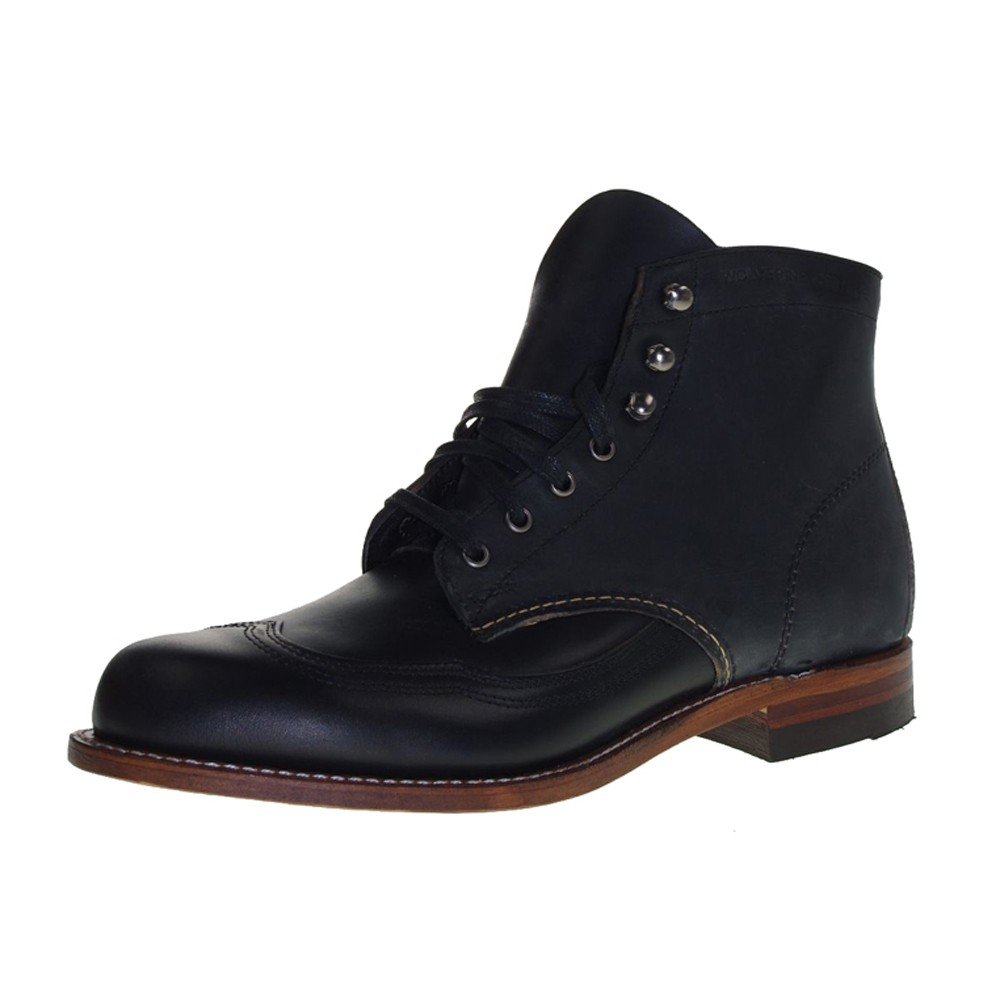 WOLVERINE 1000 MILE Men - Boots ADDISON BOOT - black