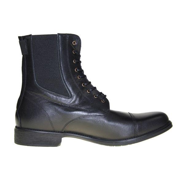 HOBO Men - Stiefelette LISBOA GP rd ECO - black panther - Thumb 3