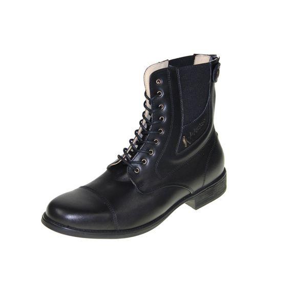 HOBO Men - Stiefelette LISBOA GP rd ECO - black panther - Thumb 1