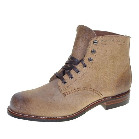 WOLVERINE 1000 MILE Men - Boots MORLEY - natural